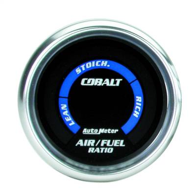 "AutoMeter - GAUGE, AIR/FUEL RATIO-NARROWBAND, 2 1/16"", LEAN-RICH, LED ARRAY, COBALT - 6175"