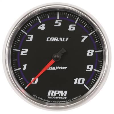 "Instrument Panel - Tachometer Gauge - AutoMeter - GAUGE, TACHOMETER, 5"", 10K RPM, IN-DASH, COBALT - 6298"