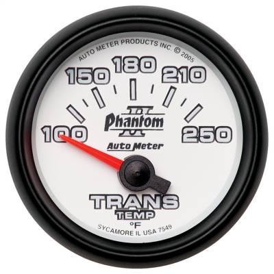 "GAUGE, TRANSMISSION TEMP, 2 1/16"", 100-250?F, ELECTRIC, PHANTOM II - 7549"