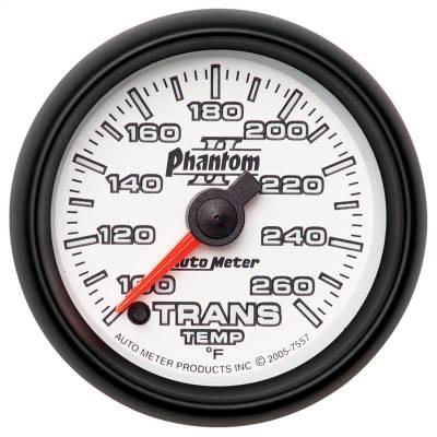 "GAUGE, TRANSMISSION TEMP, 2 1/16"", 100-260?F, DIGITAL STEPPER MOTOR, PHANTOM II - 7557"