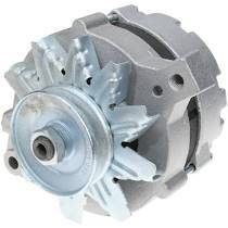 Powermaster - Powermaster Alternator Ford Upgrade Natural 150A Smooth Look 1V Pulley 1-Wire - 8-47141