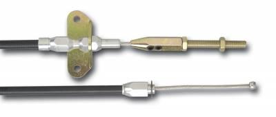 Hardware - Parking Brake Cable - Lokar - Lokar Connector Cable Foot Op E-brake Black Housing - EC-8001U