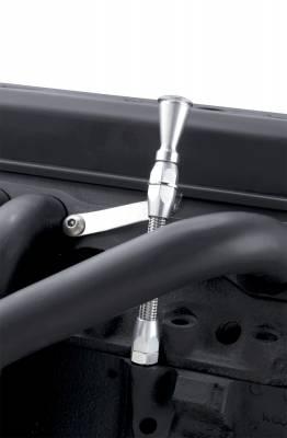 Cylinder Block Components - Engine Oil Dipstick - Lokar - Lokar Flexible Engine Dipstick 1979 & Earlier Small Block Chevy Push Into Driver's Side - ED-5002