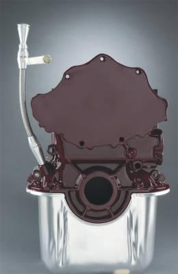 Cylinder Block Components - Engine Oil Dipstick - Lokar - Lokar Flexible Engine Dipstick Early Ford/ 289/302 - ED-5010